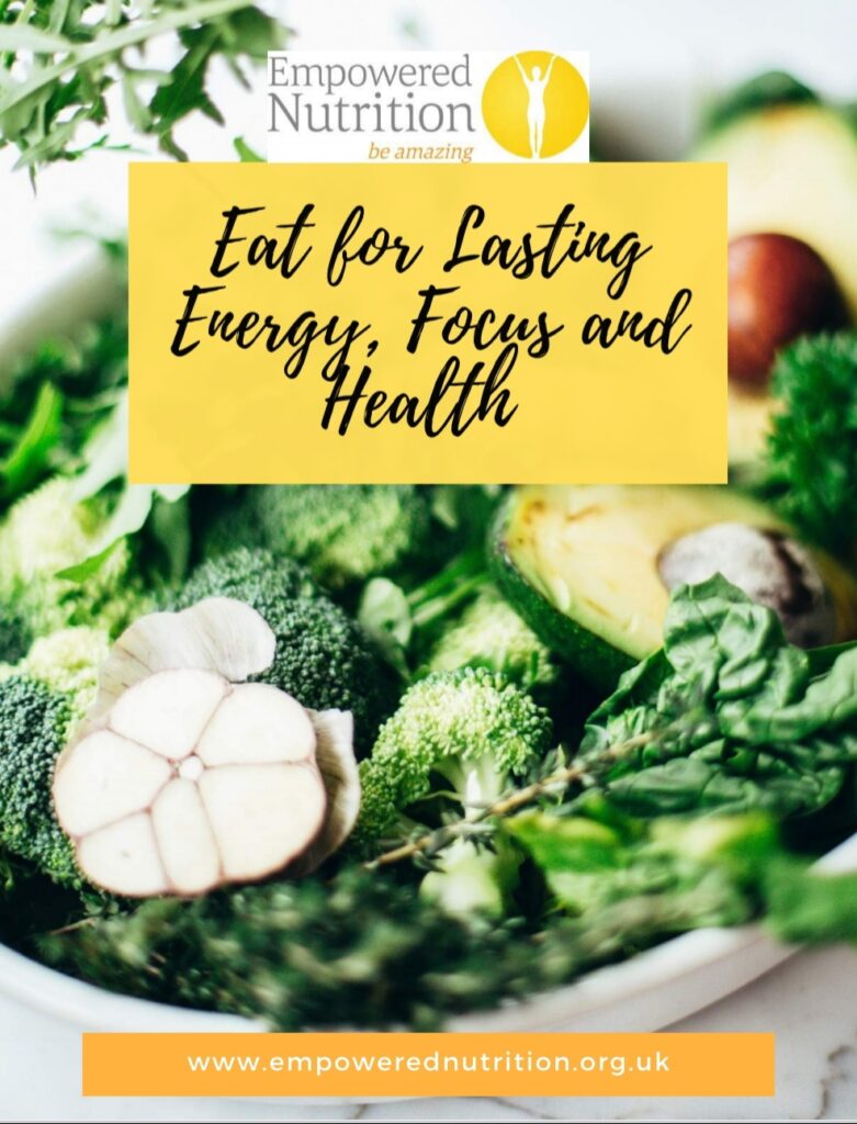 Cover of eBook Eat for Lasting Energy, Focus and Health